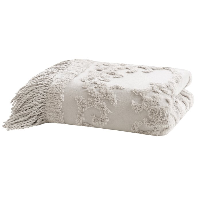 Veras Tufted Cotton Throw