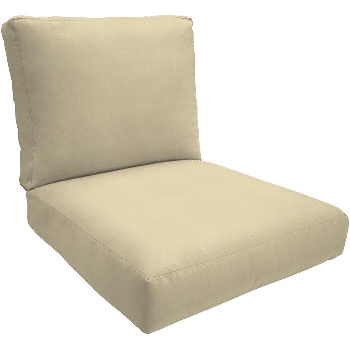 Wayfair Custom Outdoor Cushions Knife Edge Outdoor Sunbrella Lounge Chair  Cushion U0026 Reviews | Wayfair