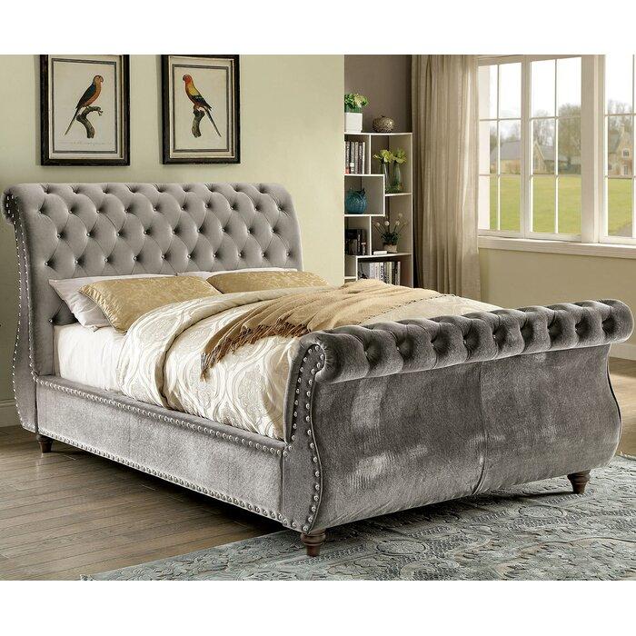 noella sleigh bed - King Sleigh Bed Frame