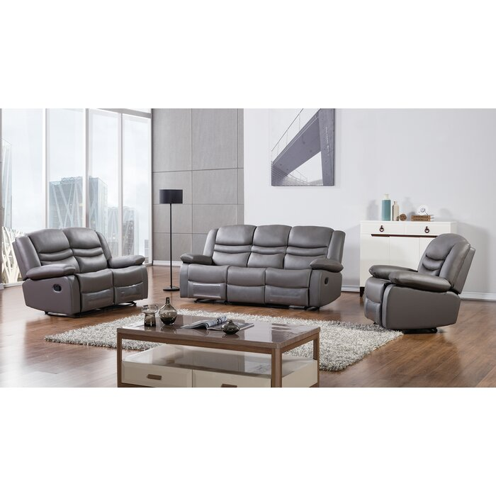 AmericanEagleInternationalTrading Bayfront 3 Piece Living Room Set ...