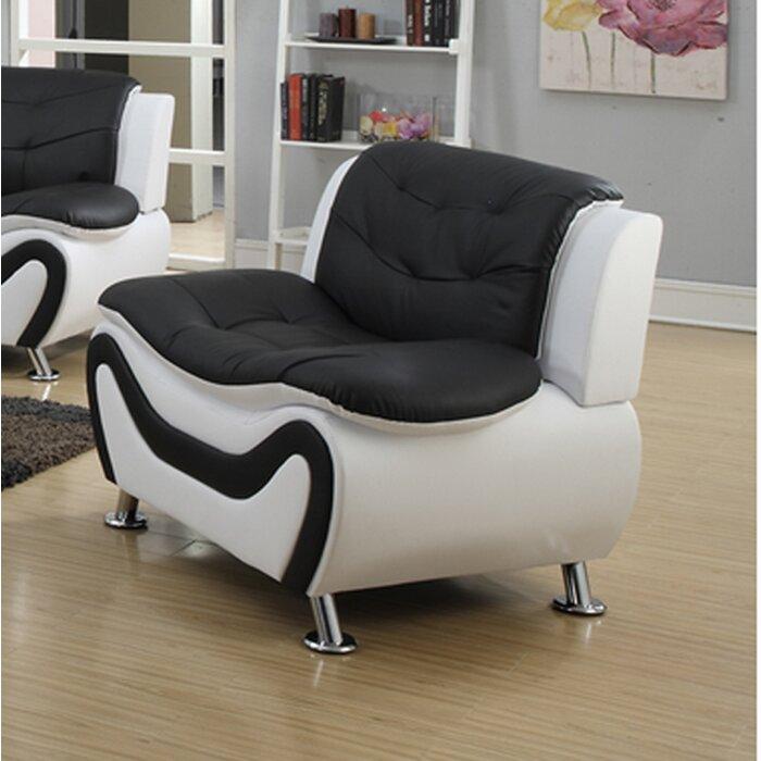 Pdaeinc Tiffany Modern Living Room Armchair & Reviews   Wayfair