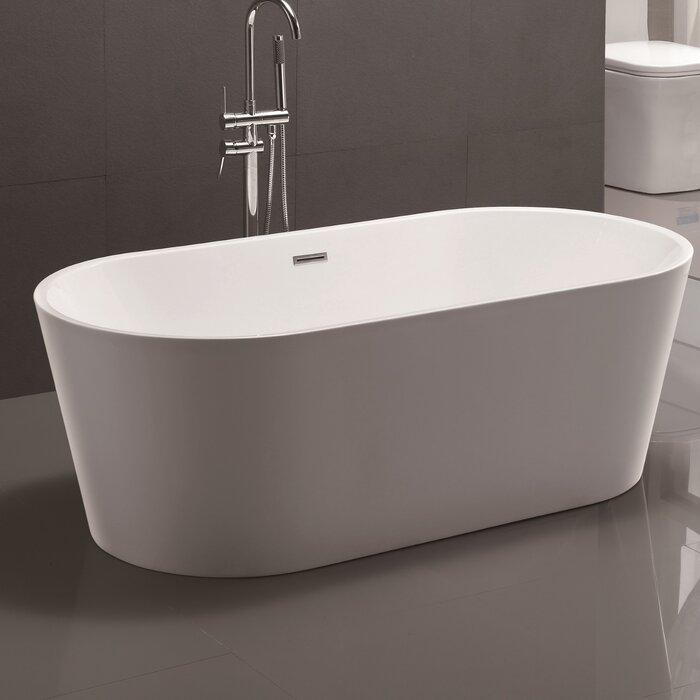 Vanity Art 59 X 29 5 Freestanding Soaking Bathtub Reviews