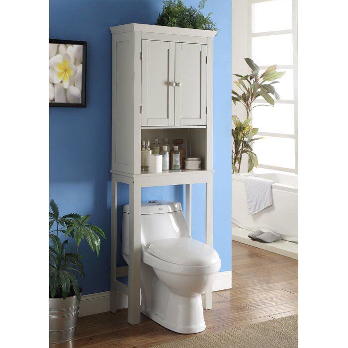 Bathroom Space Saver 23 6  W x 66 75  H Over the Toilet Storage. Over the Toilet Storage Cabinets   Wayfair