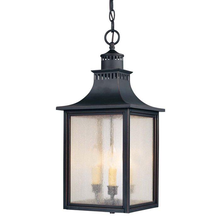 savoy house monte grande 3light outdoor hanging lantern u0026 reviews wayfair - Savoy Lighting