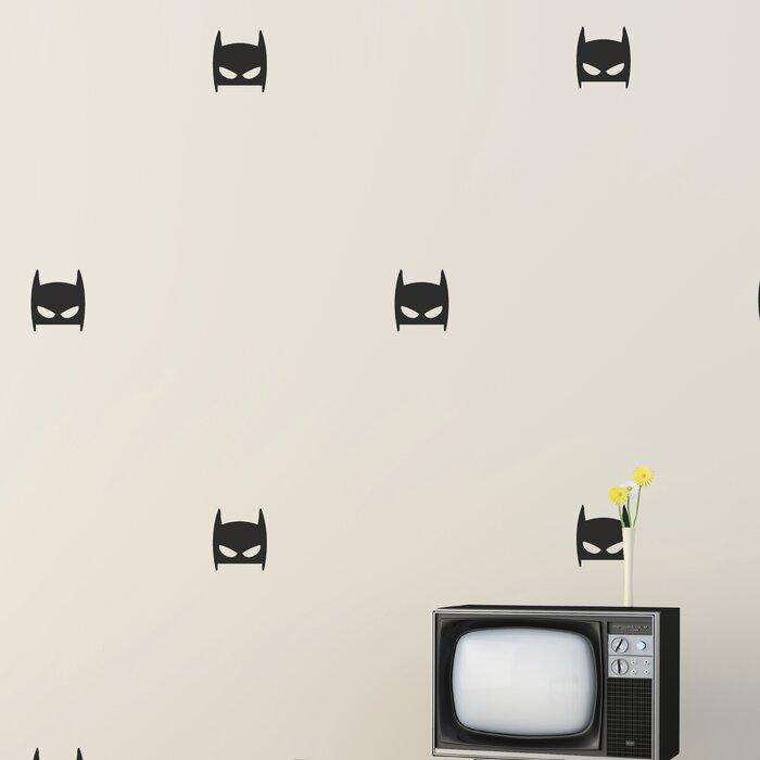 Superhero Masks Wall Decal Part 86