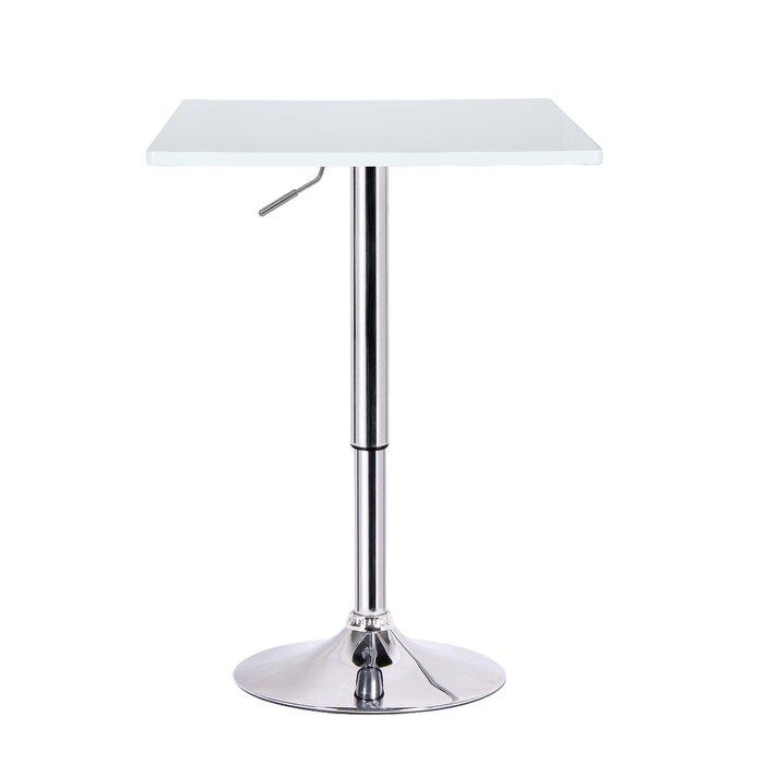 Luta Adjustable Height Pub Table