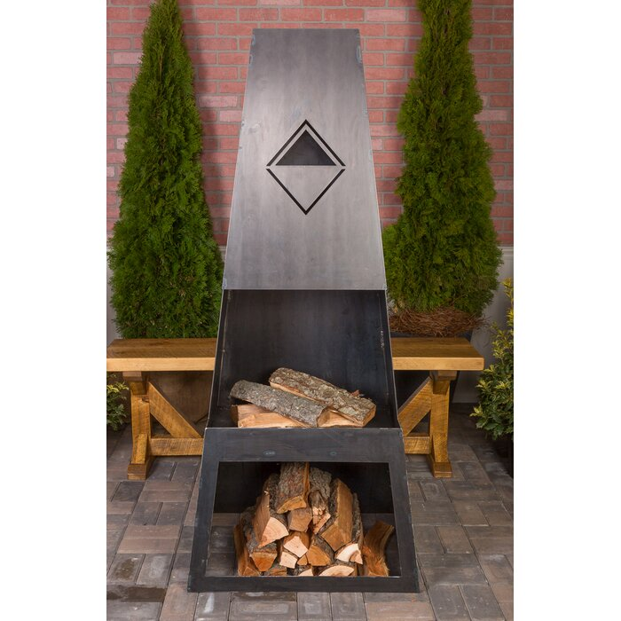 Corona outdoor fireplace model 30075 by kay home products