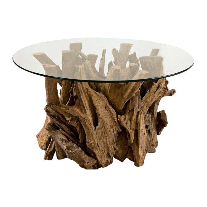 Union Rustic Cindi Driftwood Coffee Table Reviews Wayfair
