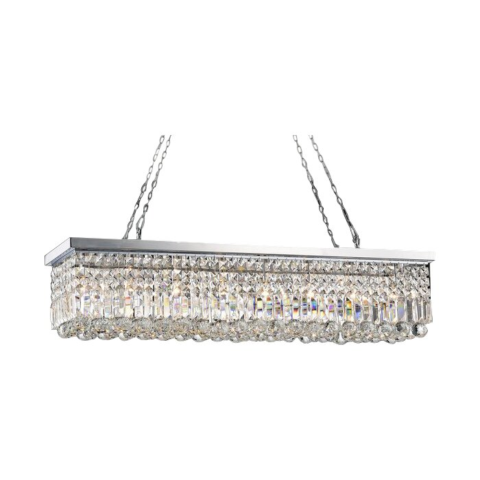 Crossett 8 light crystal chandelier reviews joss main