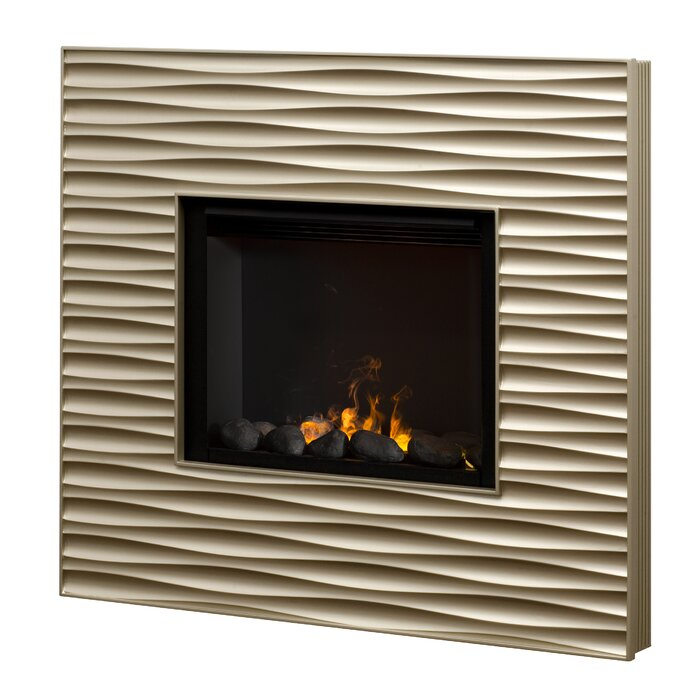 Dimplex Willowridge Opti-Myst Wall Mount Electric Fireplace ...