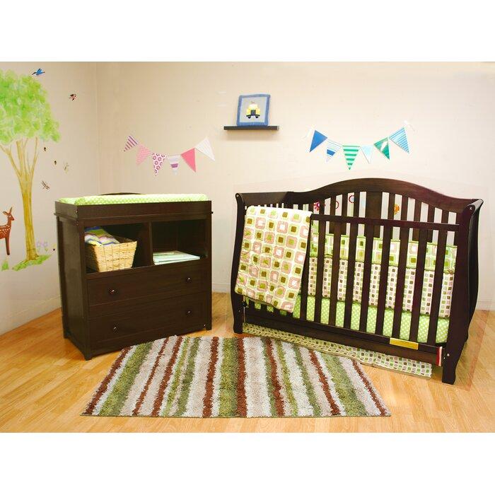 Viv + Rae Jaden Convertible 2 Piece Crib Set U0026 Reviews | Wayfair