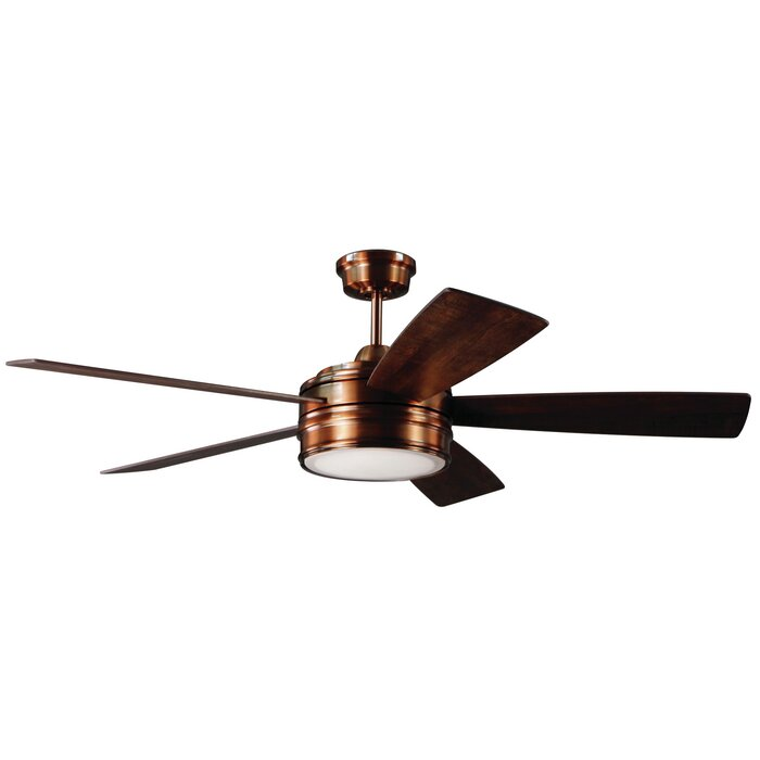 52 Mathers 5 Blade LED Ceiling Fan With Remote Reviews
