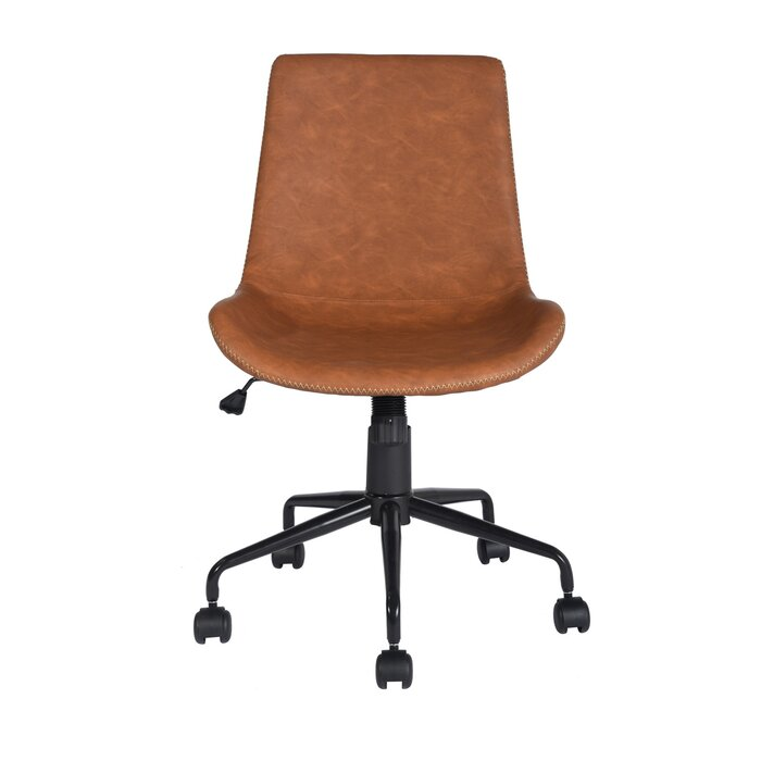 brown office chairs