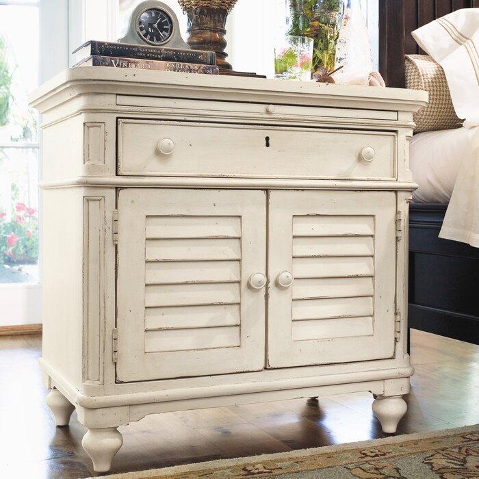 Paula Deen Home Steel Magnolia 1 Drawer Nightstand & Reviews   Wayfair