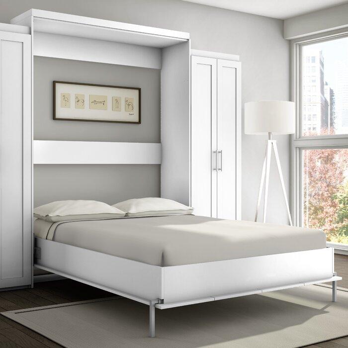 Home Furniture Bed stellar home shaker murphy bed & reviews   wayfair