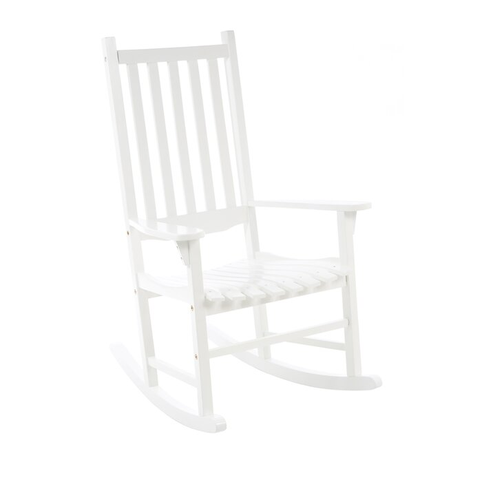 Atlantic Outdoor Traditional Rocking Chair U0026 Reviews | Wayfair