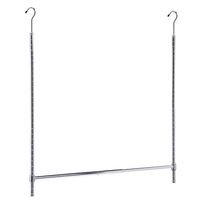 Honey Can Do Adjustable Hanging Closet Rod U0026 Reviews | Wayfair