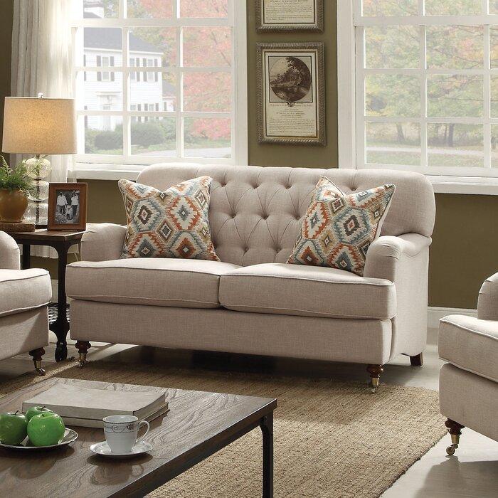 ACME Furniture Alianza Loveseat & Reviews | Wayfair