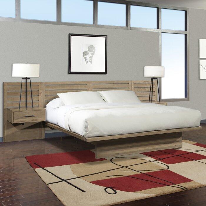 Marvelous Cresent Furniture Hudson Platform Bed U0026 Reviews | Wayfair