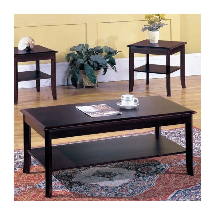 Andover Mills Jessica 3 Piece Coffee Table Set U0026 Reviews | Wayfair
