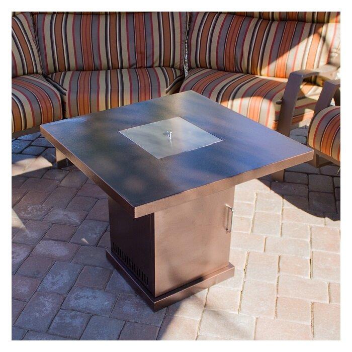 AZ Patio Heaters Steel Propane Fire Pit Table U0026 Reviews   Wayfair  Az Patio Heaters