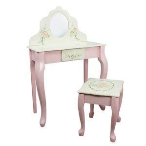 Brilliant Kids Bedroom Vanities Joss Main Machost Co Dining Chair Design Ideas Machostcouk