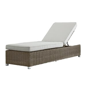 shannon patio lounge chair with cushion - Chaise Outdoor Lounge Chairs