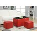 Zipcode Design Marla 3 Piece Storage Ottoman Set