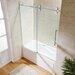 Vigo Elan 60 Quot X 66 Quot Single Sliding Frameless Tub Door
