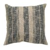 Creative Co-Op Square Stripe Cotton Throw Pillow
