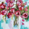Art Group Tulip Splendour by Amanda J. Brooks Canvas Wall Art