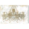 Oliver Gal Gold Diamonds Faded Graphic Art on Canvas