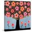 Marmont Hill 'Flowering Tree' by Vanessa Sascalia Painting Print on Wrapped Canvas