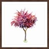 Marmont Hill 'Purple Red Tree' by Michelle Dujardin Framed Painting Print