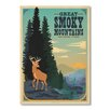 Americanflat Smoky Mountains by Anderson Design Group Vintage Advertisement
