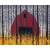 Hadley House Co Forever Contemporary Landscape by Daniel Lager Painting Print on Canvas