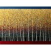 Hadley House Co Way Outside Contemporary Landscape by Daniel Lager Painting Print on Canvas