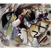 Magnolia Box Painting with White Form, 1913 by Wassily Kandinsky Framed Art Print