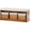 Andover Mills® Argyle Wood Storage Entryway Bench