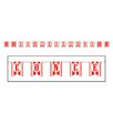 The Holiday Aisle Concessions Pennant Banner (Set of 3)