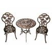 Charlton Home Hearst 3 Piece Bistro Set Amp Reviews Wayfair