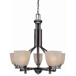 House Of Hampton Mormont 9 Light Crystal Chandelier
