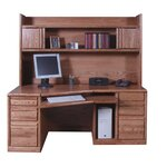 August Grove Salinas Computer Desk With Hutch Amp Reviews