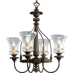 Warehouse Of Tiffany Georgina 3 Light Empire Chandelier