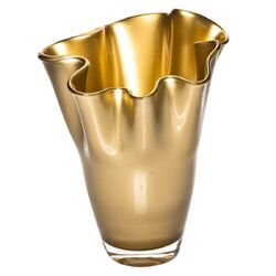 Moderne Vase Gold