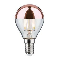Glühbirne mit kupferfarbener Verspiegelung