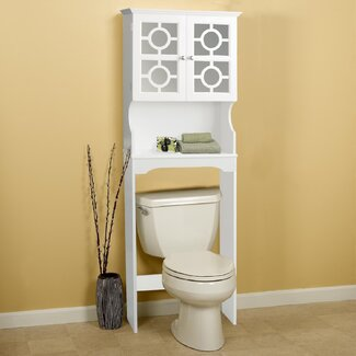 24.38  W x 67.73  H Over the Toilet Storage