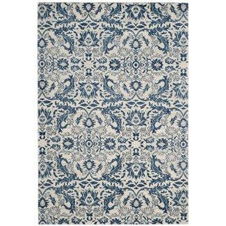 Lark manor montelimar ivory blue area rug you 39 ll love wayfair - Decor discount montelimar ...