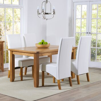 Home Etc Stoke Dining Table And 4 Chairs Wayfair Uk