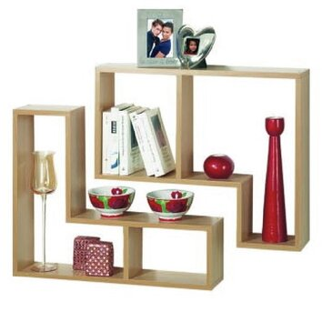 House additions 2 piece wall shelf set reviews wayfair uk for Decoration murale wayfair